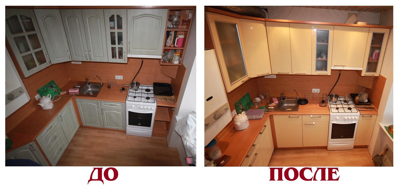 ремонт на кухне в хрущёвке фото