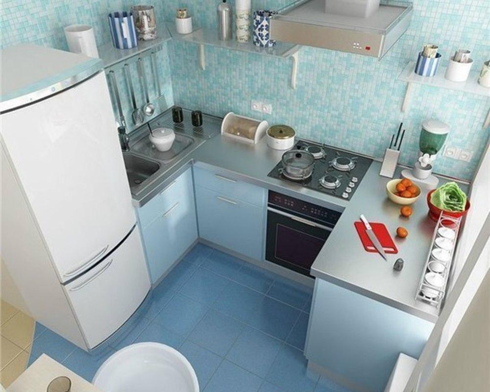 Дизайн для кухни в корабле 6 кв.м