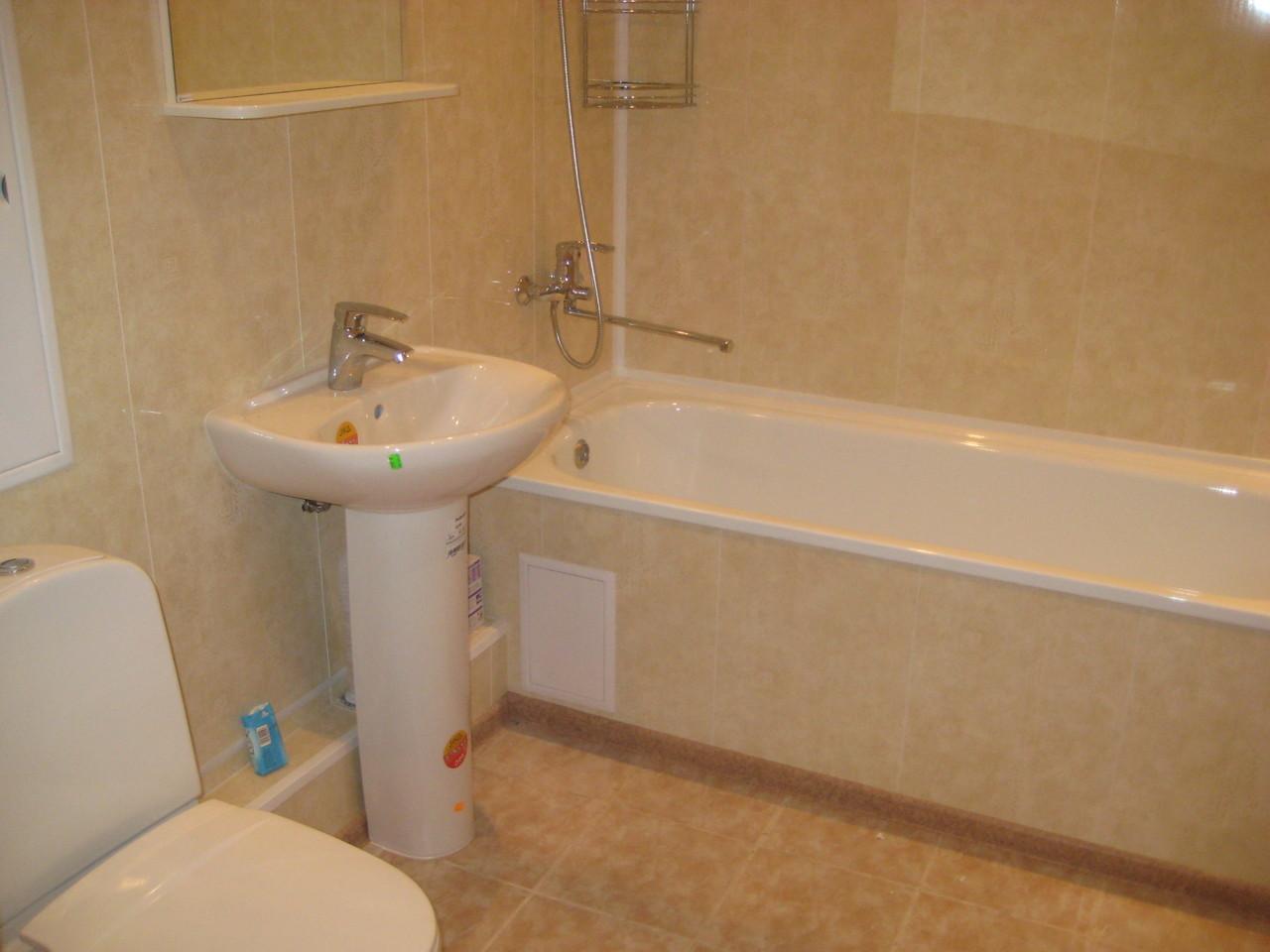 Ремонт ванной комнаты панелями своими руками фото