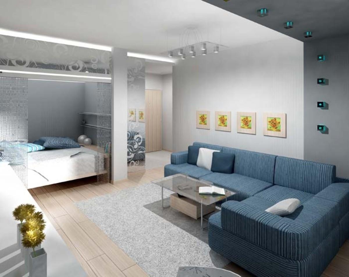 фото ремонта дизайна однокомнатной квартиры