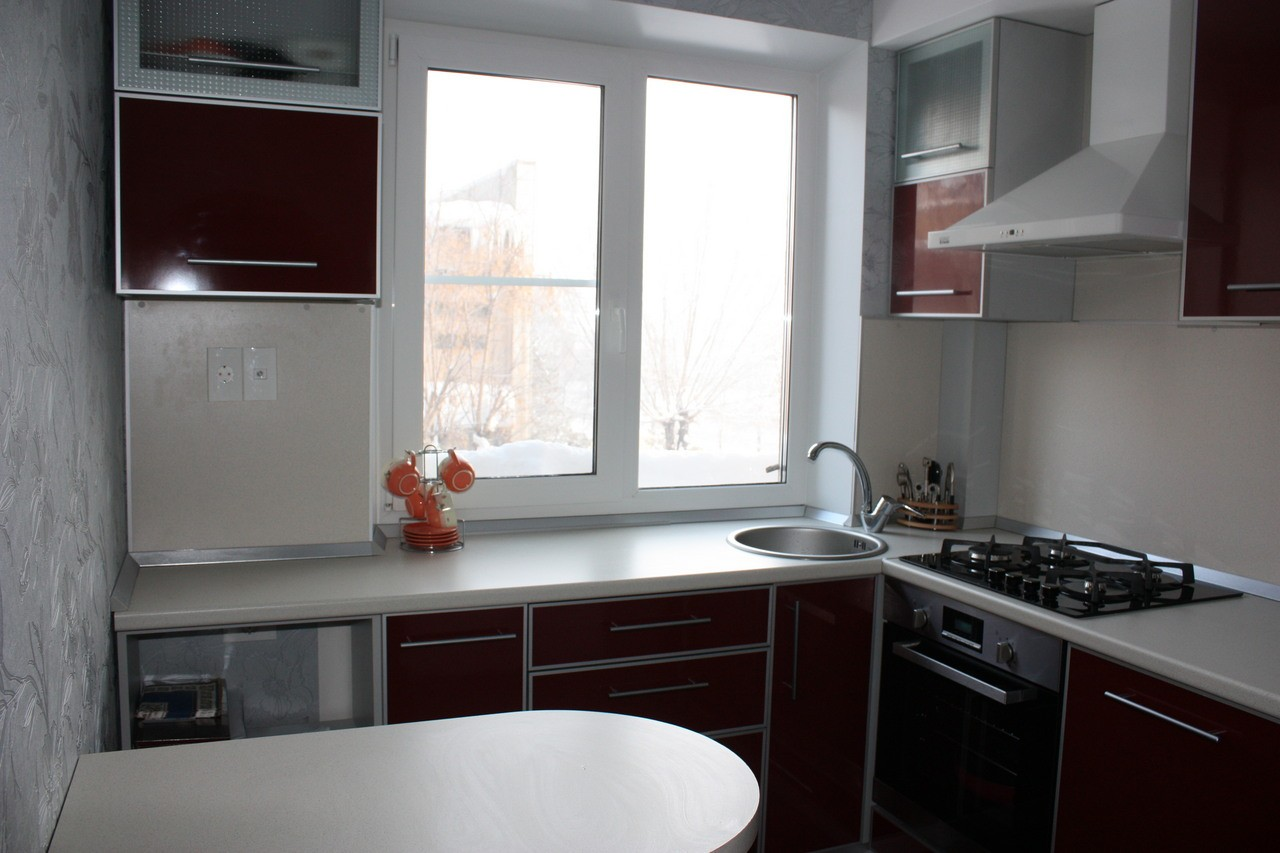 Дизайн кухни 4 кв м в хрущевке фото