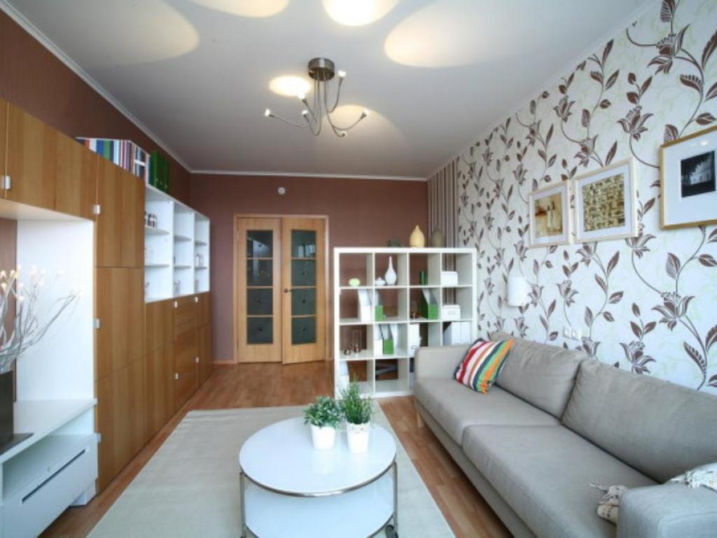 Простой дизайн однокомнатной квартиры своими руками фото